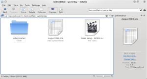 Virtual Folder using a relative date