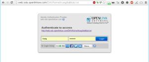 VAL Authentication Dialog