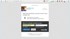 LinkedIn OAuth Handshake